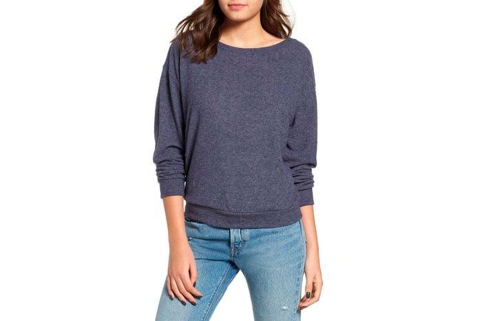 comfortable sweatshirt