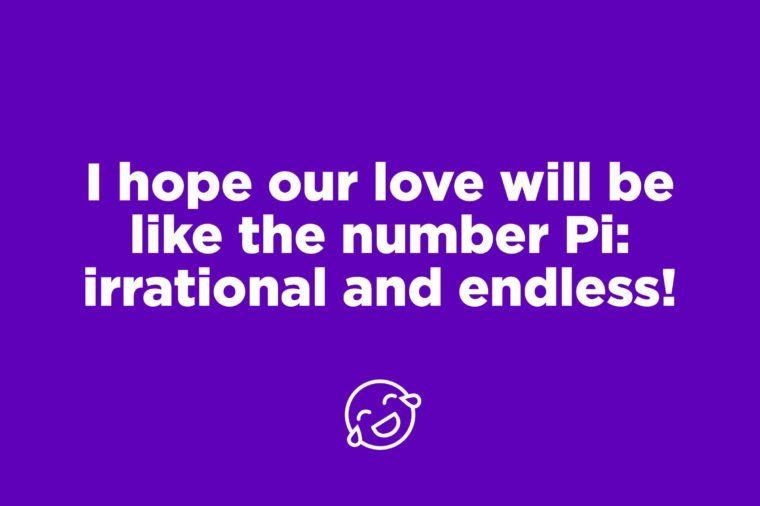 pi pick up line