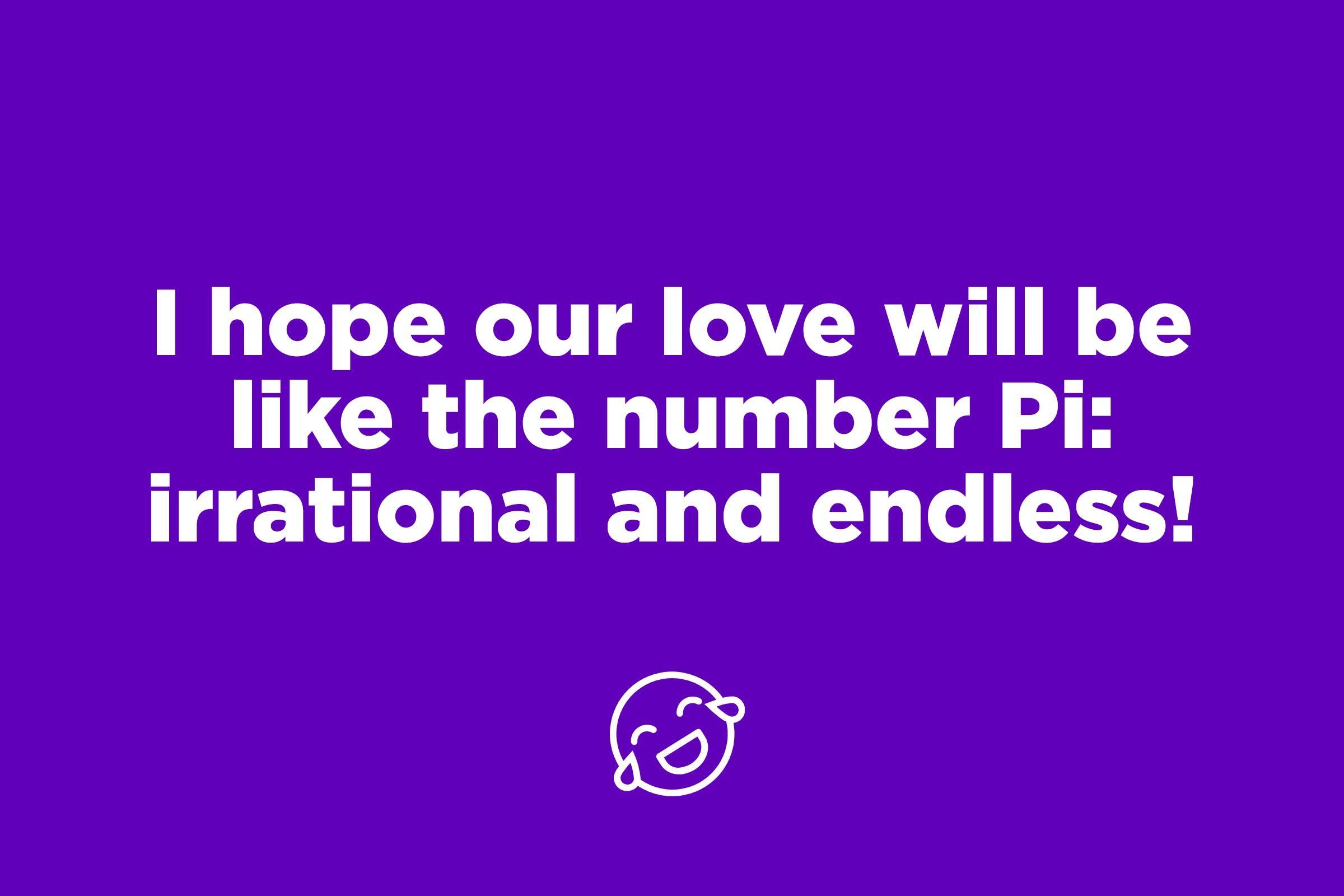 pi pick up line