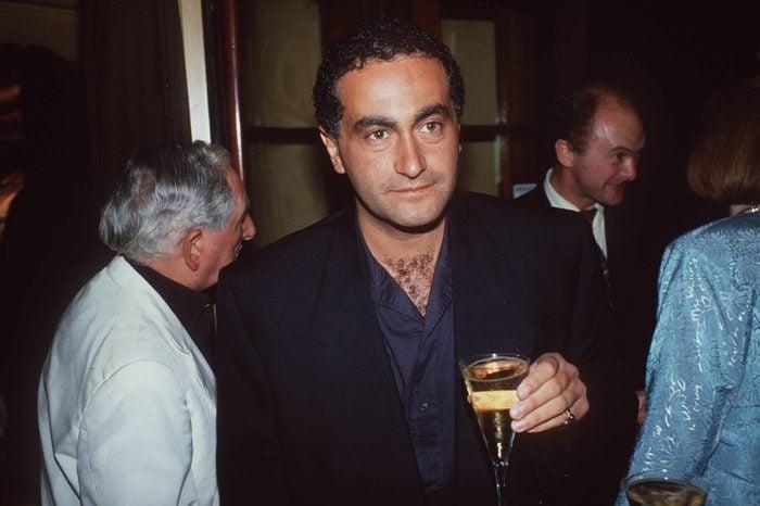 DENIS SELINGER WEDDING PARTY AT LANGANS RESTAURANT IN LONDON, BRITAIN - 1988