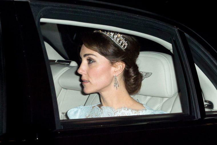 Diplomatic reception at Buckingham Palace, London, Britain - 08 Dec 2015