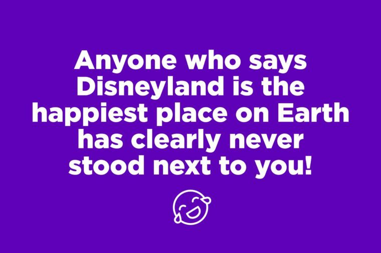 disneyland pick up line