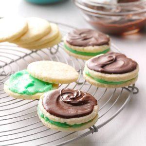 Tennessee: Creme de Menthe Cookies