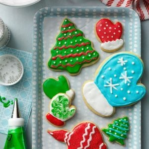 Nevada: Holiday Cutout Cookies