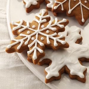 Wisconsin: Gingerbread Snowflakes