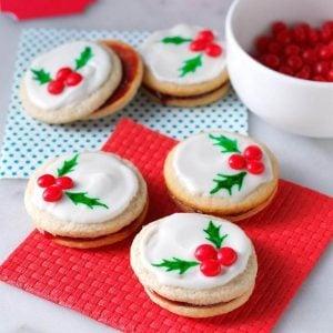Arizona: Holly Berry Cookies