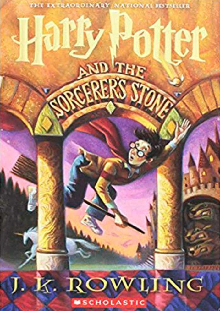 Harry Potter and the Socerer's Stone classic children's books