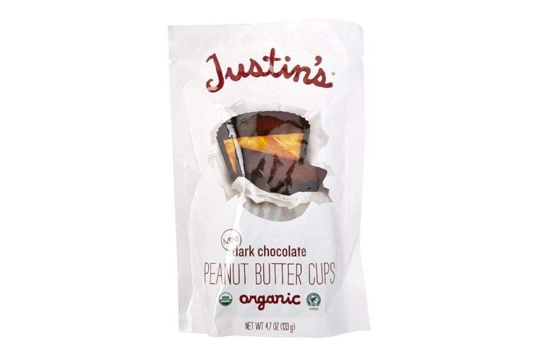 Justin's Nut Butter Mini Peanut Butter Cups, Dark Chocolate, 4.7 Ounce
