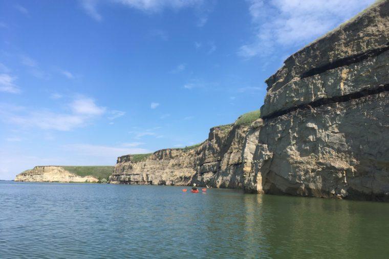 Kayaking in North Dakota