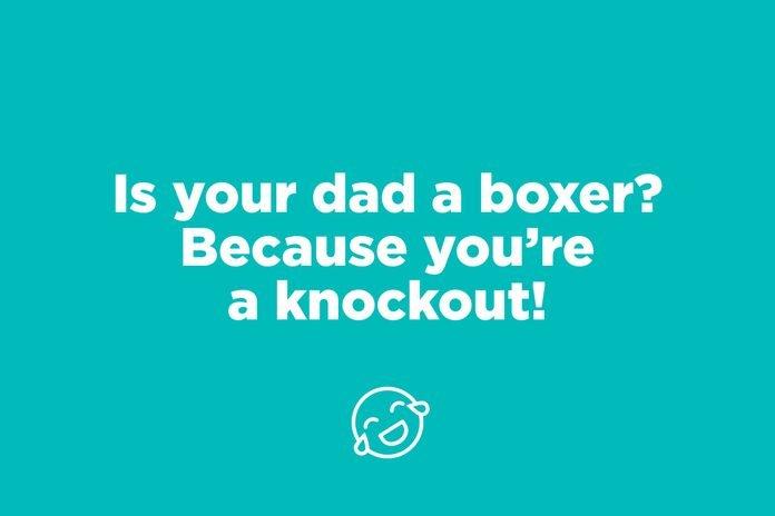 knockout pick up line
