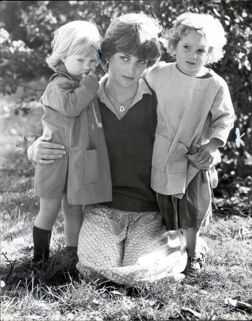 Lady Diana Spencer With Two Children From St George's Square Kindergarten. This Is The Face Of The Woman Who Could Be Our Next Queen - Seen Through The Camera Lens And The Eyes Of The Children She Teaches. Lady Diana Spencer The New Girl In The Life