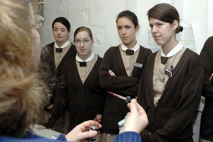 Norland College for Nannies in Bath, Britain - 10 Nov 2006