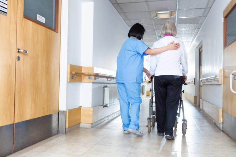 Rehab for elderly people.
