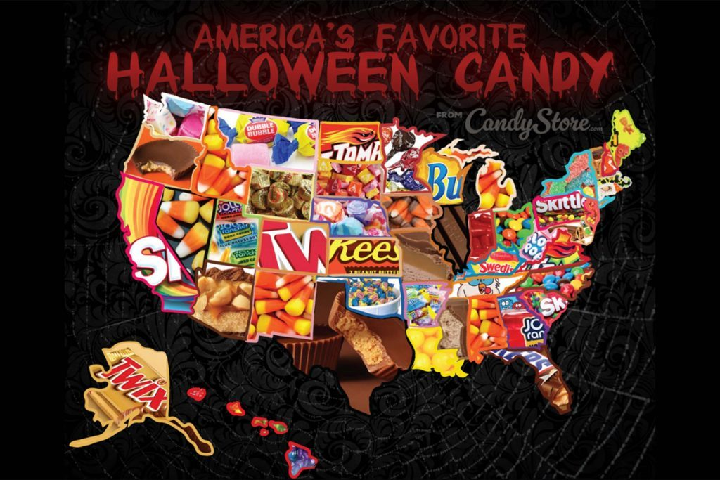 america's favorite halloween candy