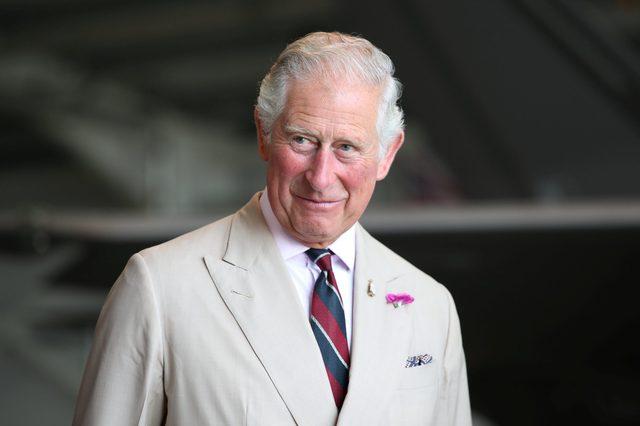 Prince Charles visit to the 617 Squadron, Norfolk, UK - 27 Jul 2018