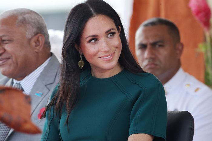Prince Harry and Meghan Duchess of Sussex tour of Fiji - 25 Oct 2018