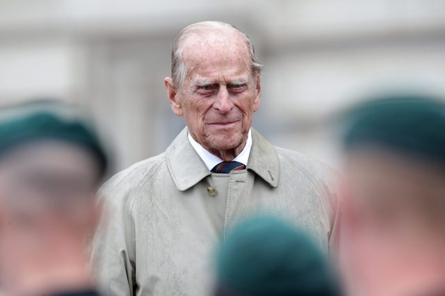 Prince Philip attends the Captain General's Parade, Buckingham Palace, London, UK - 02 Aug 2017