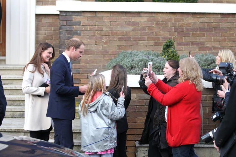 Prince William and Catherine Duchess of Cambridge Visit the Offices of Child Bereavement UK, Saunderton, Buckinghamshire, Britain - 19 Mar 2013