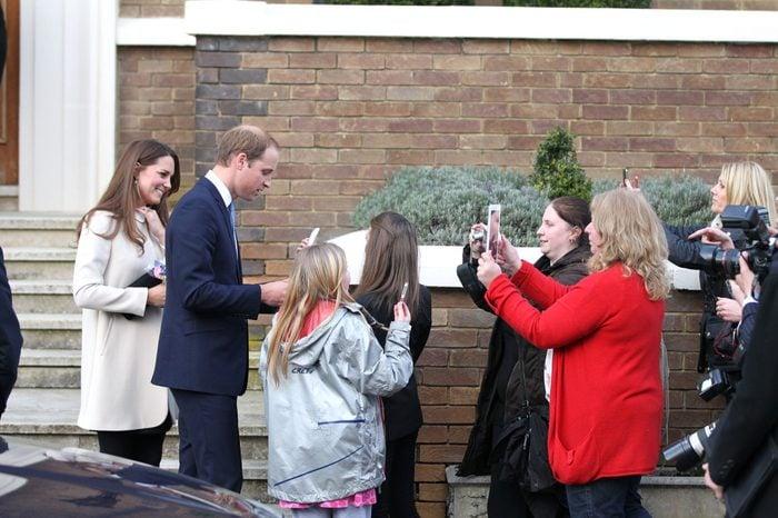 Prince William and Catherine Duchess of Cambridge Visit the Offices of Child Bereavement UK, Saunderton, Buckinghamshire, Britain - 19 Mar 2013