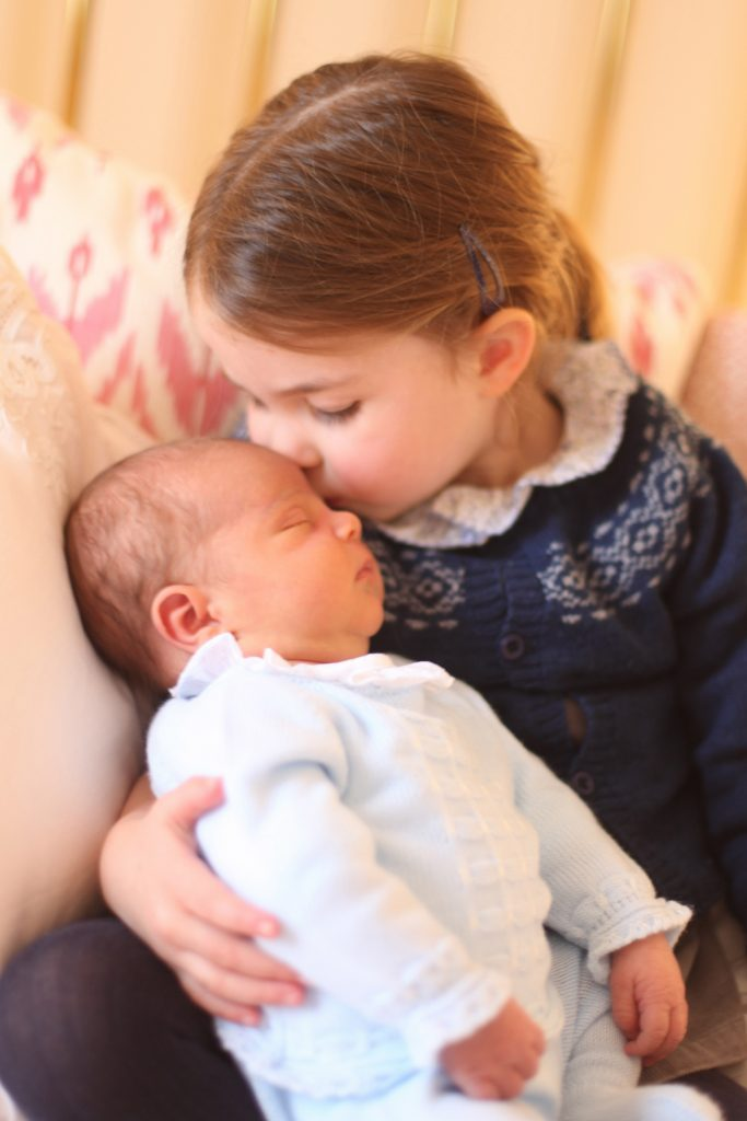 Princess Charlotte and Prince Louis, London, UK - 2018