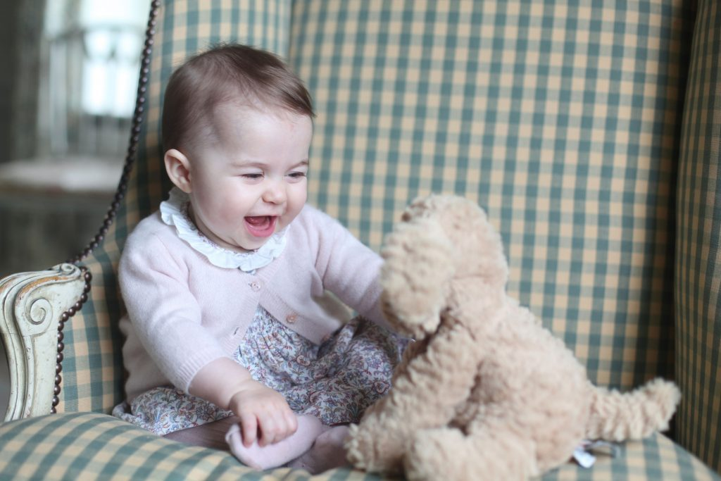 Princess Charlotte, Anmer Hall, Sandringham, Britain - Nov 2015