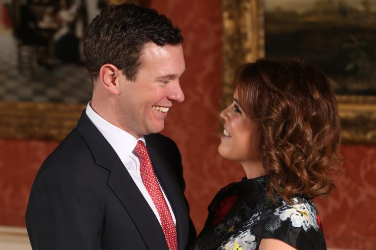 Princess Eugenie and Jack Brooksbank announce engagement, Buckingham Palace, London, UK - 22 Jan 2018