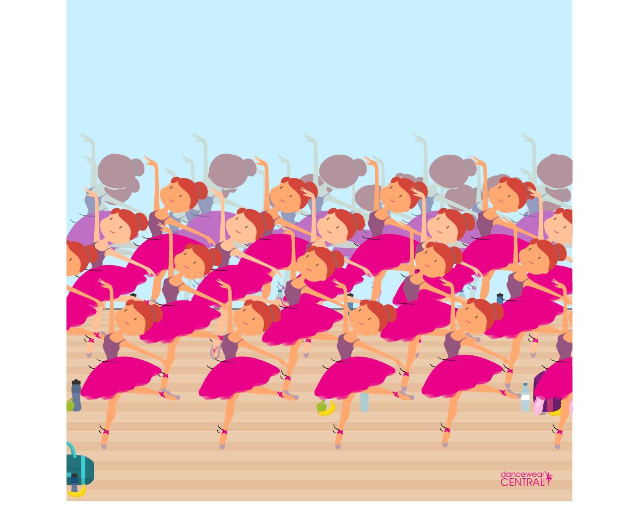 dancewear ballerina puzzle