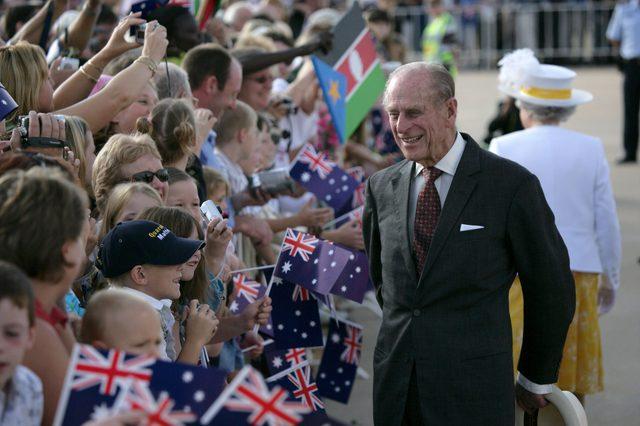 QUEEN ELIZABETH II AND PRINCE PHILIP VISIT TO AUSTRALIA - 12 MAR 2006
