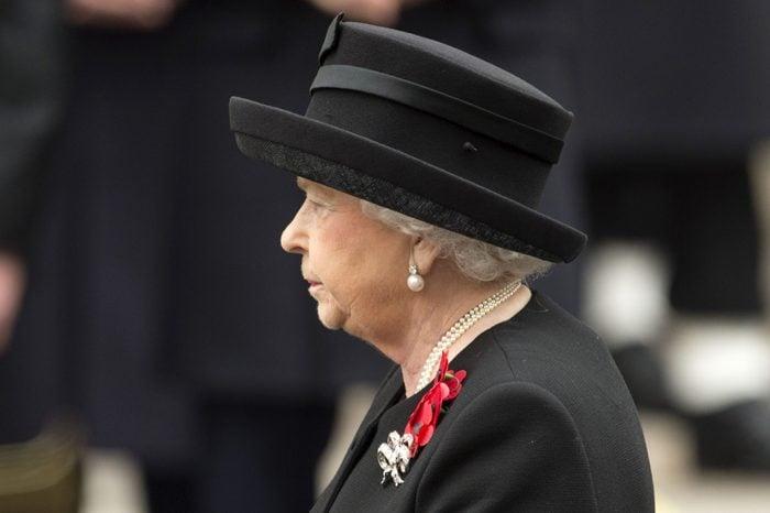 Remembrance Service, The Cenotaph, London, Britain - 08 Nov 2015
