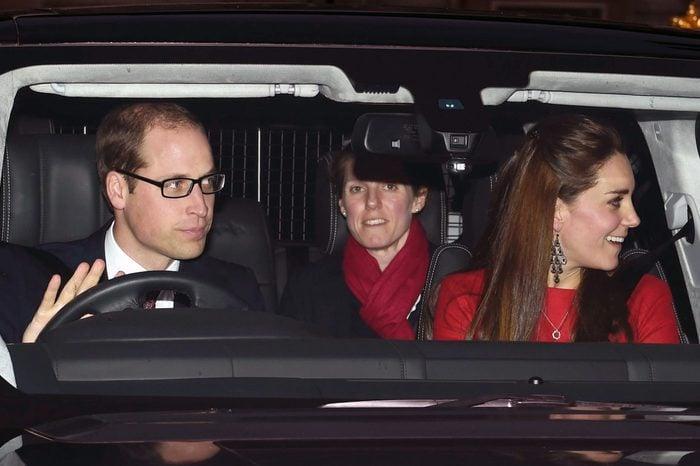 Royal family Christmas lunch, Buckingham Palace, London, Britain - 17 Dec 2014
