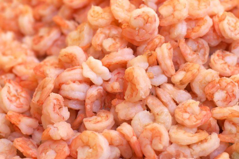 Shrimps background
