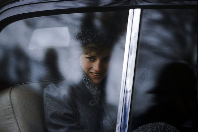 Diana Princess Of Wales Pictured After A Visit To Gloucester Catherdral In 1981. The Picture Was Taken Princess Diana Was Twenty Years Old And Pregnant With Prince William.