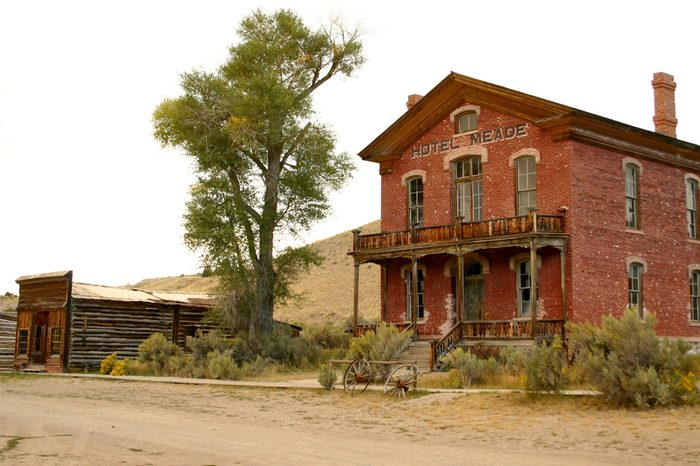 Hotel in historic Bannack Montana
