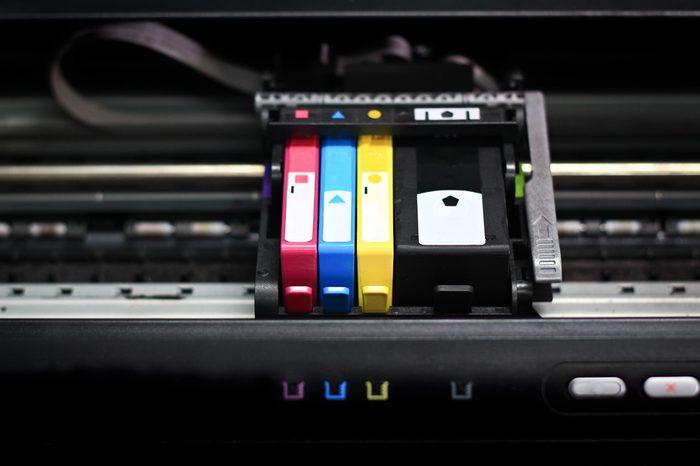 Printer in cartridges.select focus.