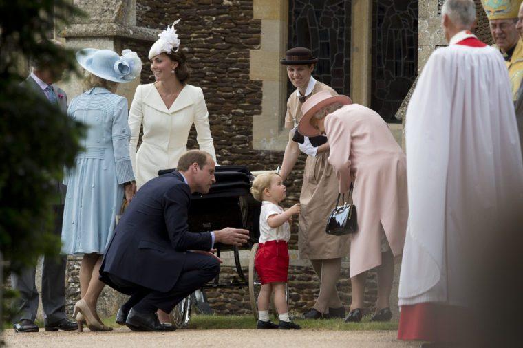 The Christening of Princess Charlotte at St. Mary Magdalene Church in Sandringham, Britain - 05 Jul 2015