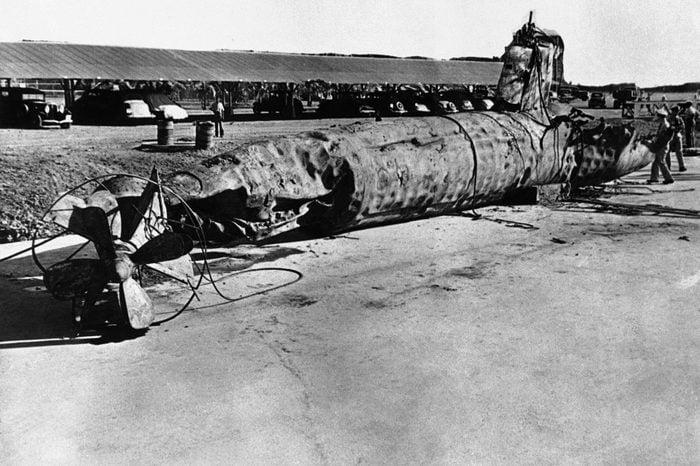 USA Japanese Two Man Submarine, USA