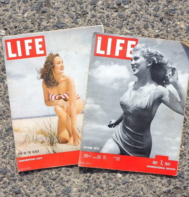 AMELAND, DUTCH - 22JULY 2017.: International magazine LIFE. July 7, 1947.