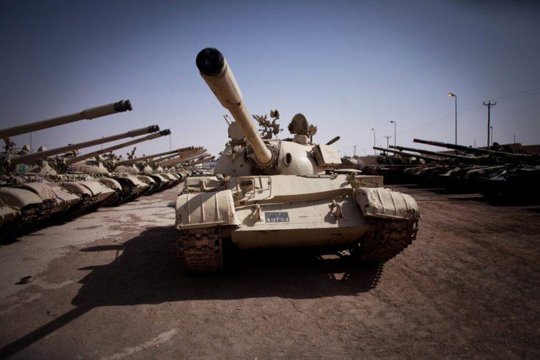Mideast Libya Gadhafis Legacy, Zintan, Libya