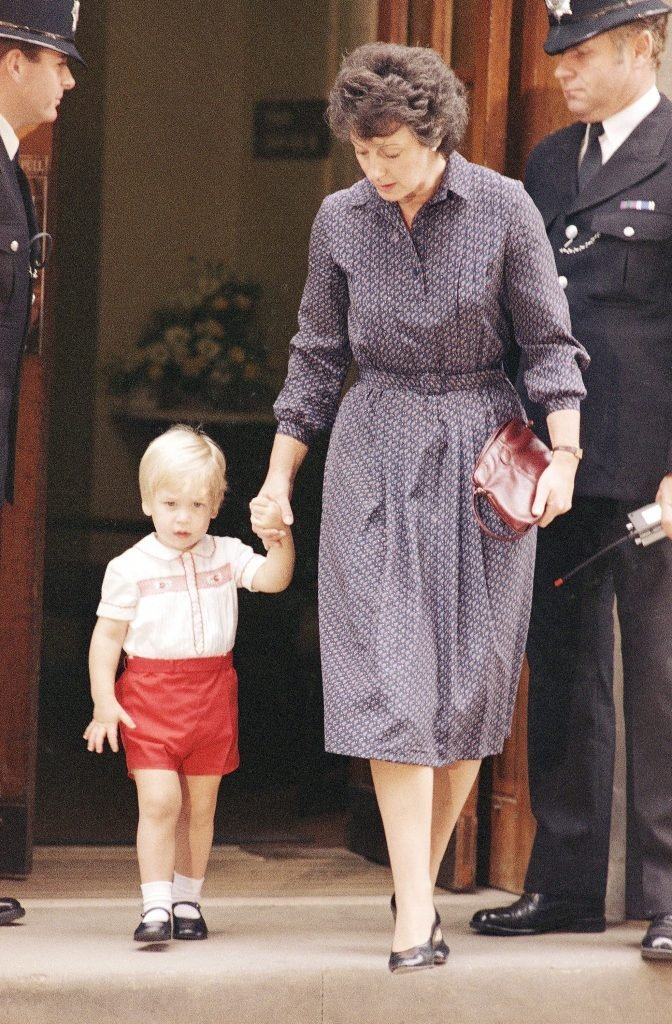 England Prince William and Barbara Barnes, London