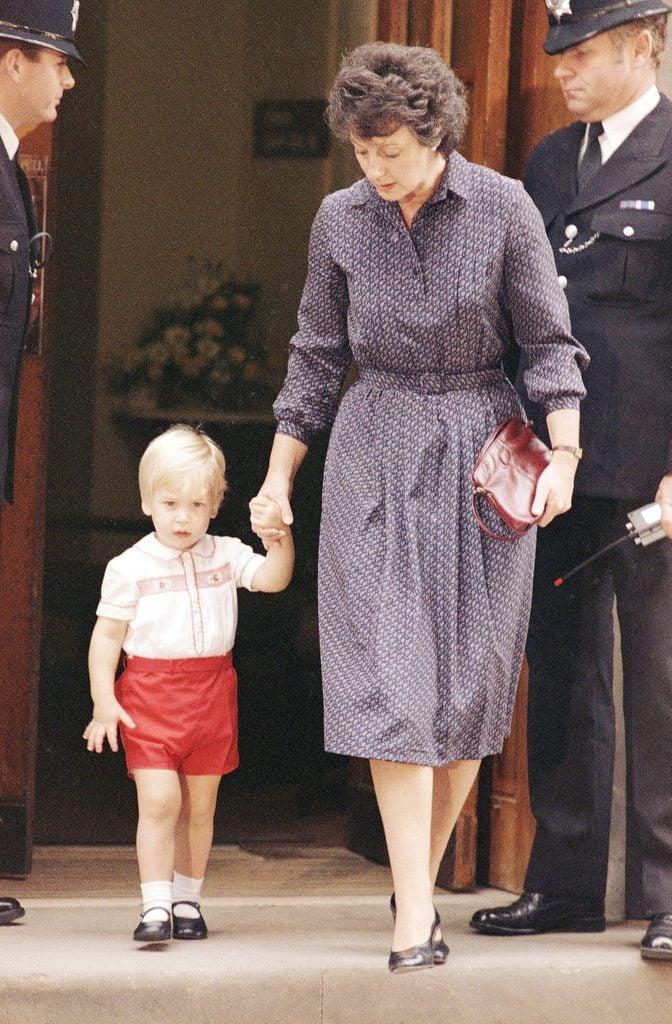 England Prince William and Barbara Barnes, London