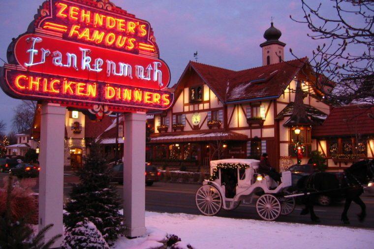 Zehnder's Sign - Frankenmuth, Michigan
