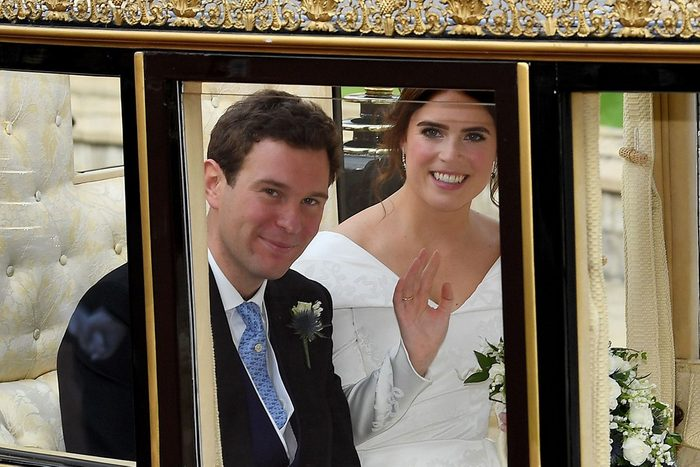 The wedding of Princess Eugenie and Jack Brooksbank, Carriage Procession, Windsor, Berkshire, UK - 12 Oct 2018