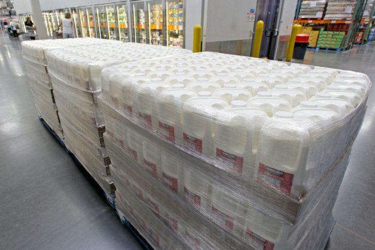 New Milk Jugs Costco