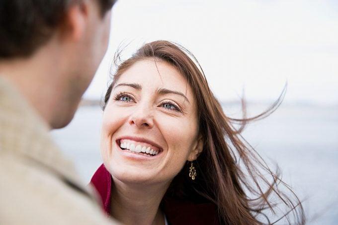 Happy smiling couple