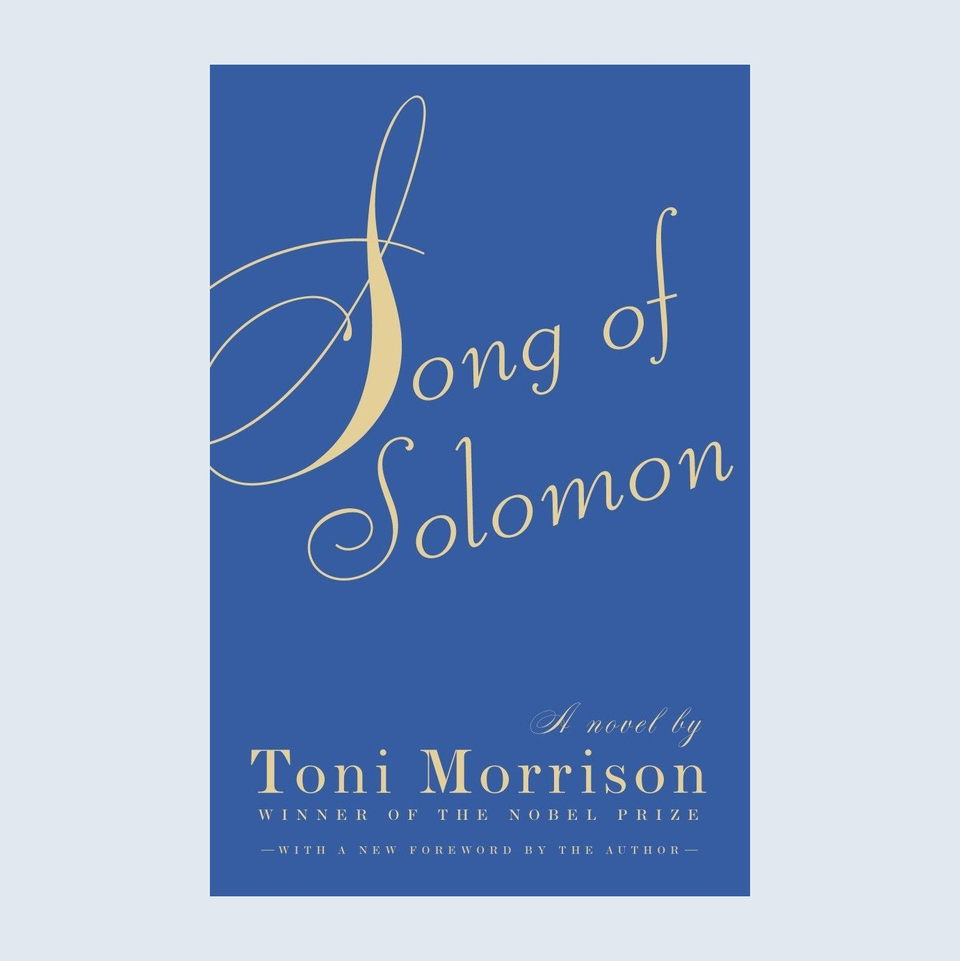 Song of Solomon book female author