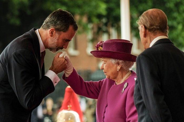 Spanish Royals State visit to the UK - 12 Jul 2017