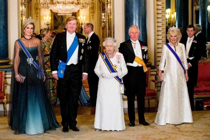 State Visit of the King and Queen of the Netherlands, London, UK - 23 Oct 2018