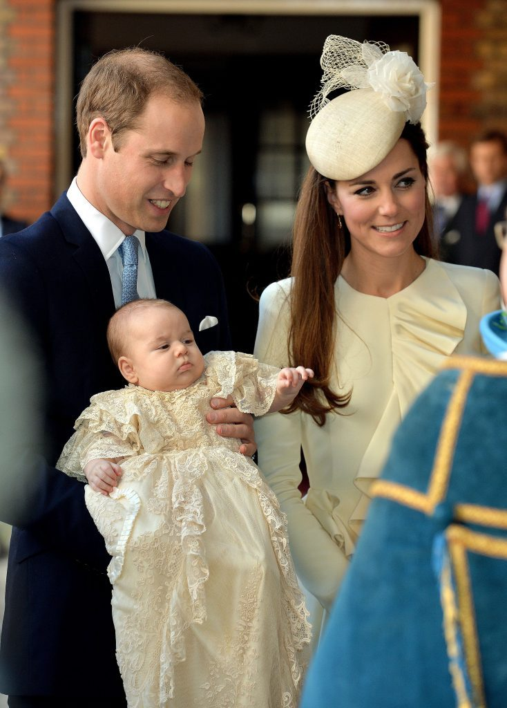 The christening of Prince George, Chapel Royal, St James's Palace, London, Britain - 23 Oct 2013