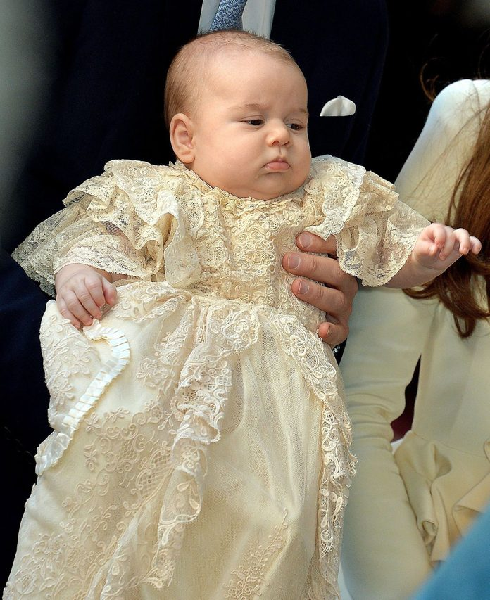 The christening of Prince George, Chapel Royal, St James's Palace, London, Britain - 23 Oct 2013 Prince George