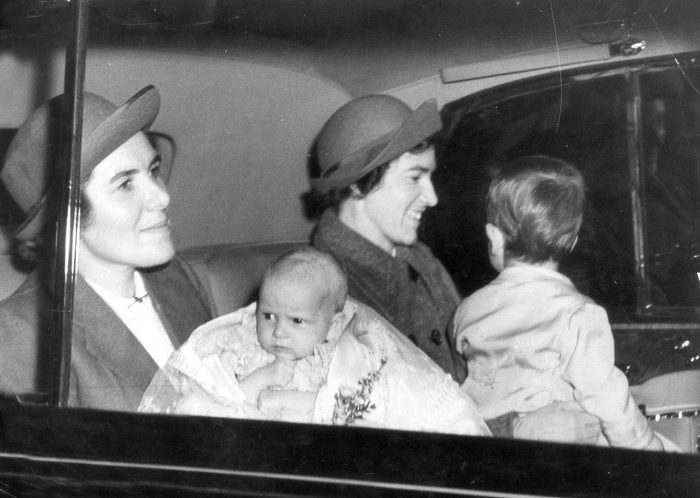 The Princess Royal- Christening 1950 Princess Anne Leaving Buckingham Palace After Her Christening With Prince Charles....royalty
